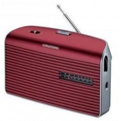 Radio de mesa GRUNDIG rojo...
