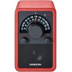 Radio AM/FM SANGEAN rojo...
