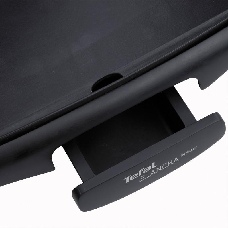 Tefal Plancha Compact 900 CB5005 1800 W Parrilla Eléctrico Mesa Negro