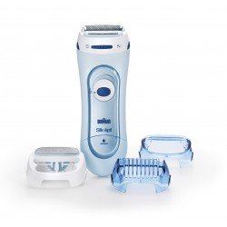 Braun LS 5160 maquinilla de afeitar para mujer Azul 1 cabezal(es) Recortadora
