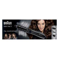 Braun Satin Hair 5 AS 530 Cepillo de aire caliente Negro, Plata, Violeta 2 m 1000 W