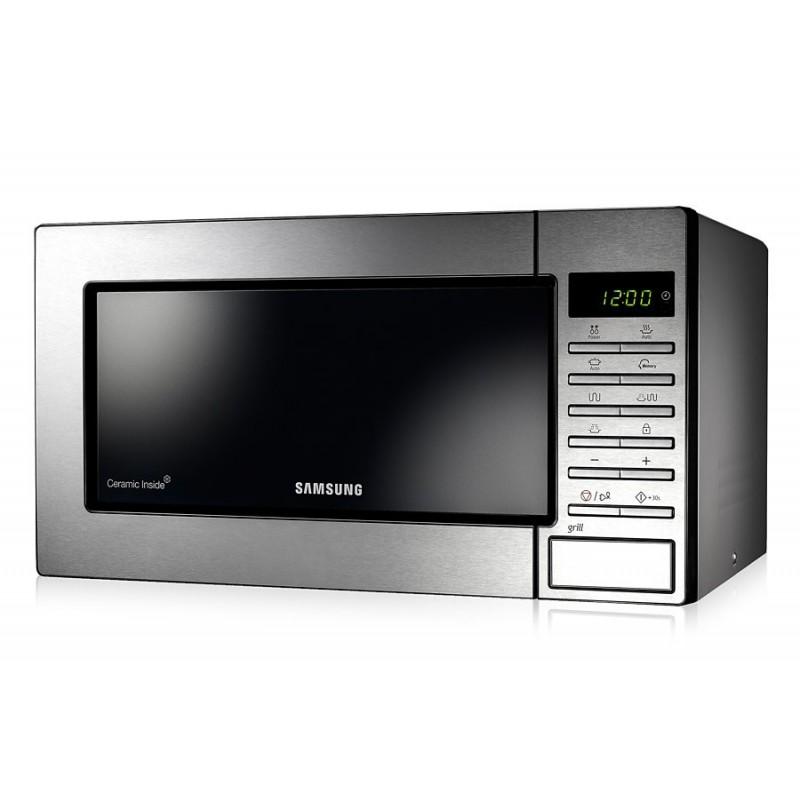 Samsung GE87M-X microondas Encimera 23 L 800 W Acero inoxidable
