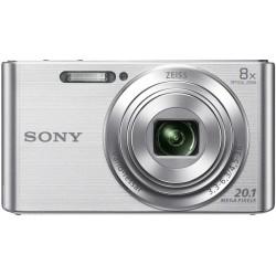 "Sony Cyber-shot DSC-W830 Cámara compacta 20,1 MP CCD 5152 x 3864 Pixeles 1 2.3"" Plata"