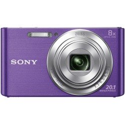 "Sony Cyber-shot DSC-W830 Cámara compacta 20,1 MP CCD 5152 x 3864 Pixeles 1 2.3"" Violeta"