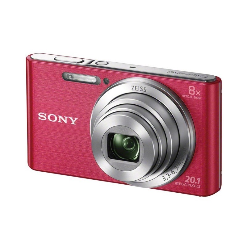 "Sony Cyber-shot DSC-W830 Cámara compacta 20,1 MP CCD 5152 x 3864 Pixeles 1 2.3"" Rosa"