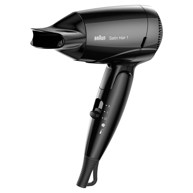 Braun Satin-Hair 1 HD 130 Negro 1200 W