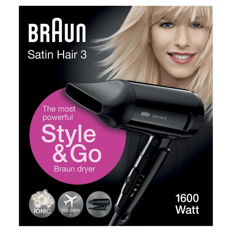 Braun 81475789 secador Negro 1600 W