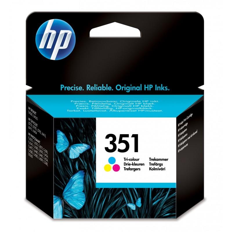 HP 351 Original Cian, Magenta, Amarillo 1 pieza(s)