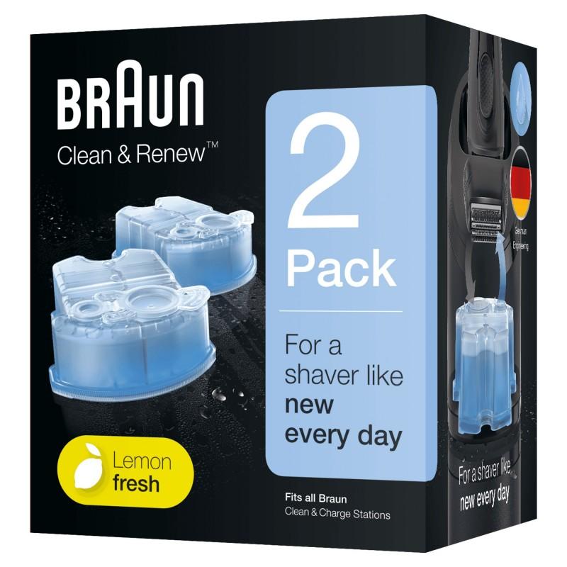 Braun CCR2 Cartucho de limpieza