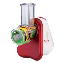 Moulinex Fresh Express + rallador eléctrico Rojo, Blanco