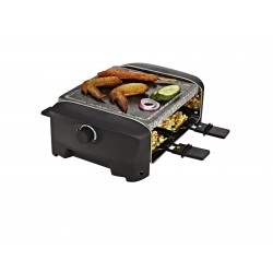 Princess 162810 Raclette 4 Stone Grill Party