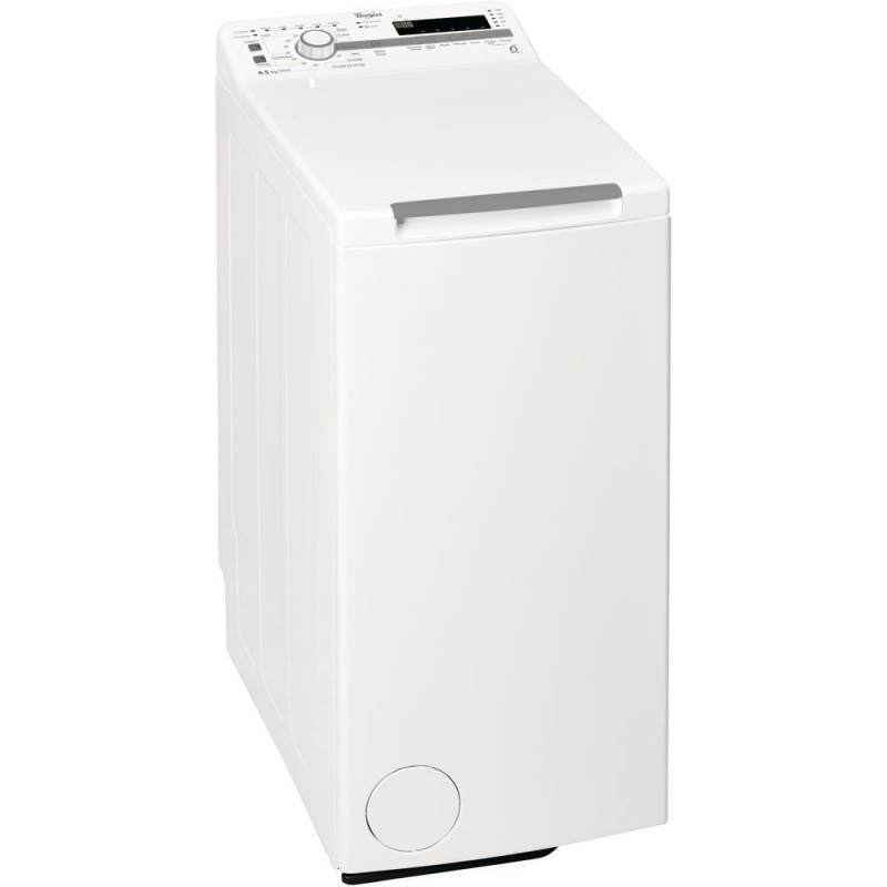 Whirlpool TDLR 65210 lavadora Independiente Carga superior Blanco 6,5 kg 1200 RPM A+++